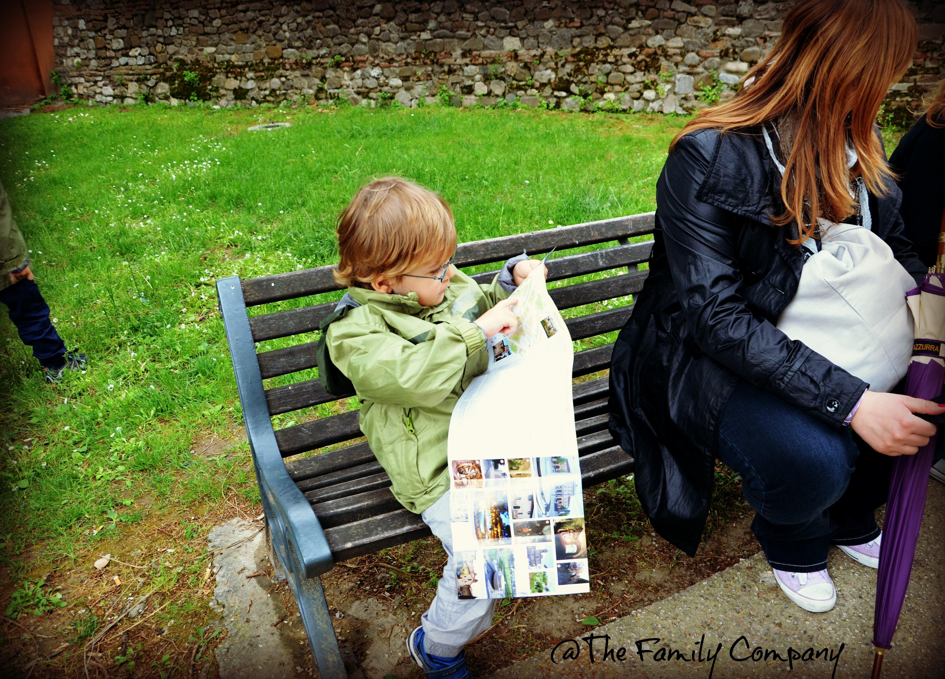 Preparare bambini ad un viaggio