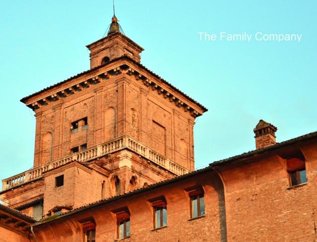 Castello di Ferrara dettaglio
